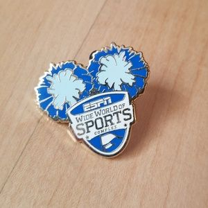 ESPN Cheerleading Cheer Worlds Pin